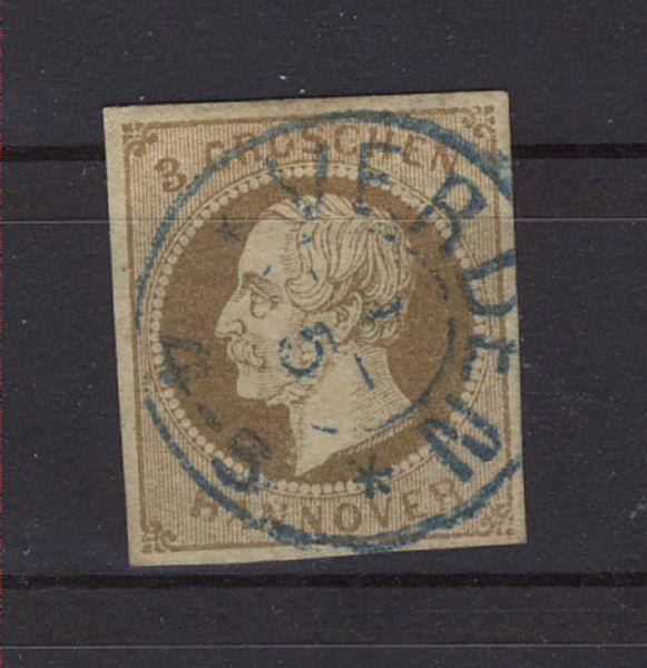 Hannover Verden zentrisch auf Mi.Nr.19