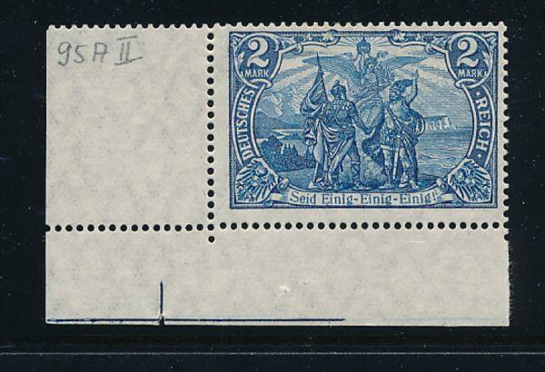 Deutsches Reich Mi.Nr.95 A II ** Luxus Fotobefund BPP