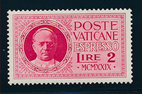 Vatikan Mi.Nr.14 ** postfrisch