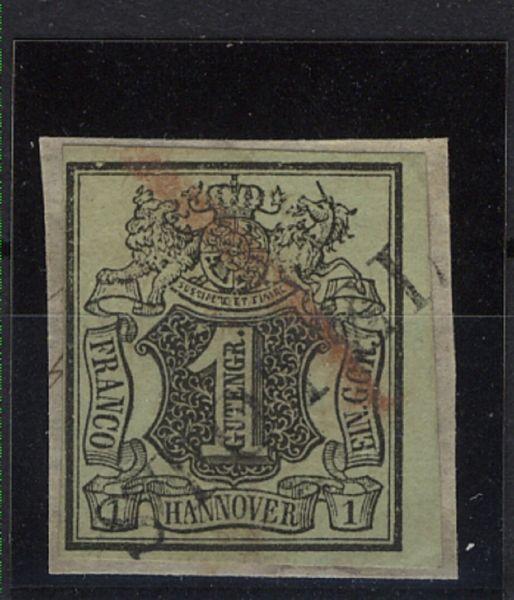 Hannover Lang-Stempel Stotel Briefstück