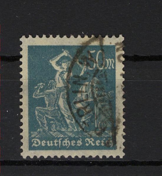 Deutsches Reich Mi.Nr.245 gestempelt geprüft Infla