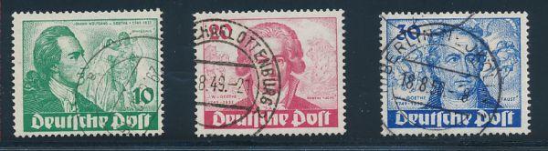 Berlin Mi.Nr.61-63 gestempelt