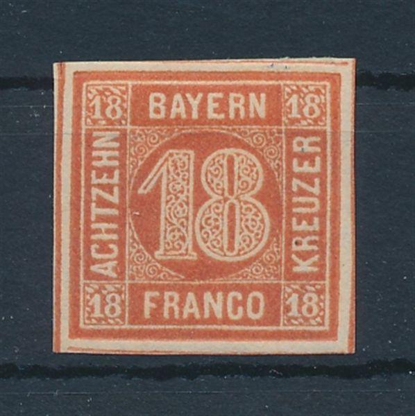 Bayern Mi.Nr.13 b * ungebraucht Luxus Fotobefund BPP