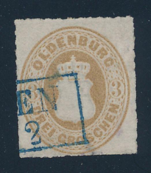 Oldenburg Mi.Nr.19 gestempelt