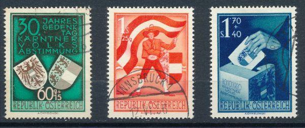 Österreich Mi.Nr. 952-54 gestempelt