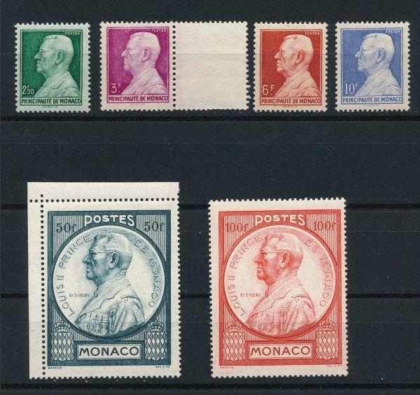 Monako Mi.Nr. 309-14 ** postfrisch