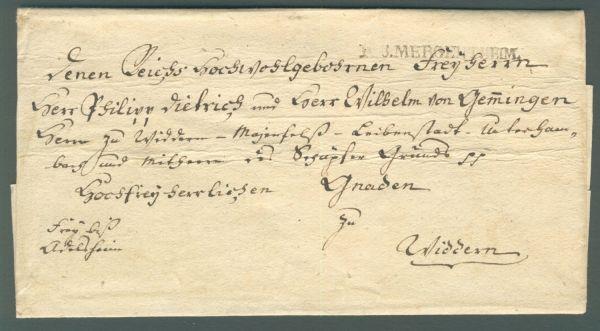 Mergentheim R 3 Vorphila-/Altbeleg