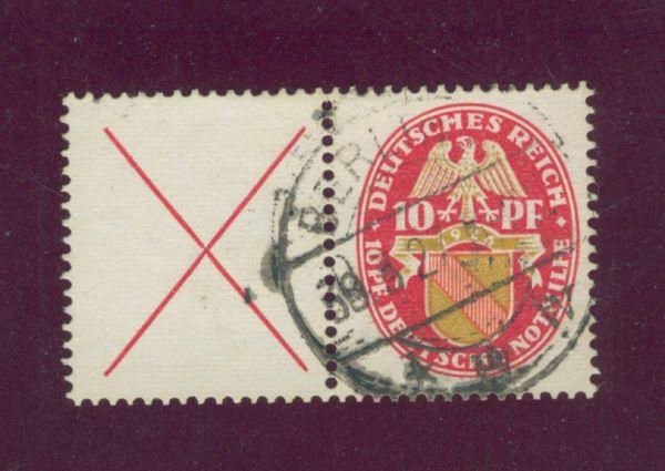 Deutsches Reich ZD W24.1.gestempelt Lux Fotobefund BPP