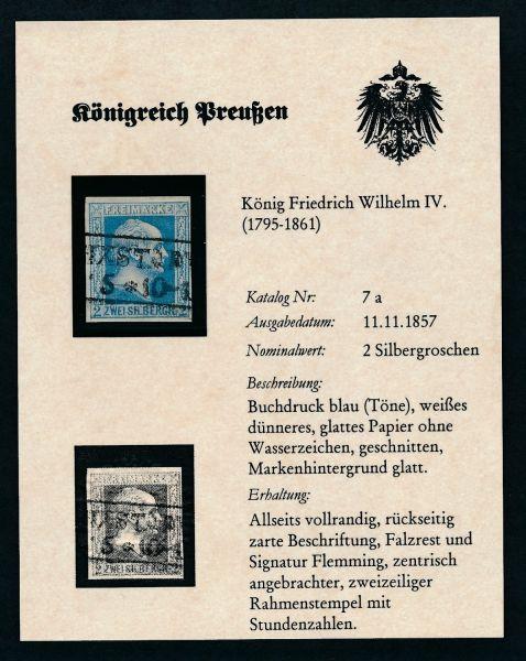 Preussen Mi.Nr. 7 gestempelt aus DPS ABO