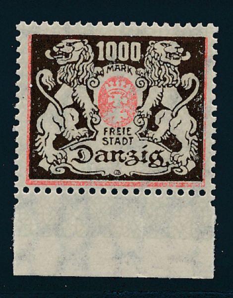 Danzig Mi.Nr.145 X ** postfrisch Luxus Fotobefund BPP