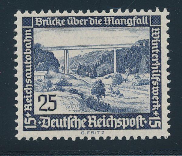 Deutsches Reich Mi.Nr.641X ** Luxus Fotobefund BPP