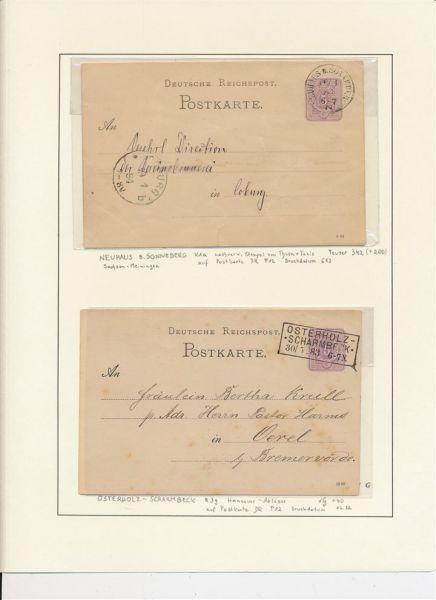 Norddeutscher Postbezirk Belegesammlung