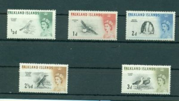 FALKLAND-Inseln Mi.Nr.123-137 ** postfrisch