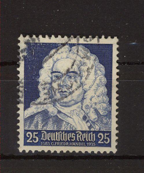 Deutsches Reich Mi.Nr.575 I Plattenfehler gestempelt