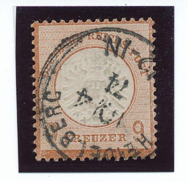 Deutsches Reich Mi.Nr.27a gestemp. Lux Fotobefund BPP