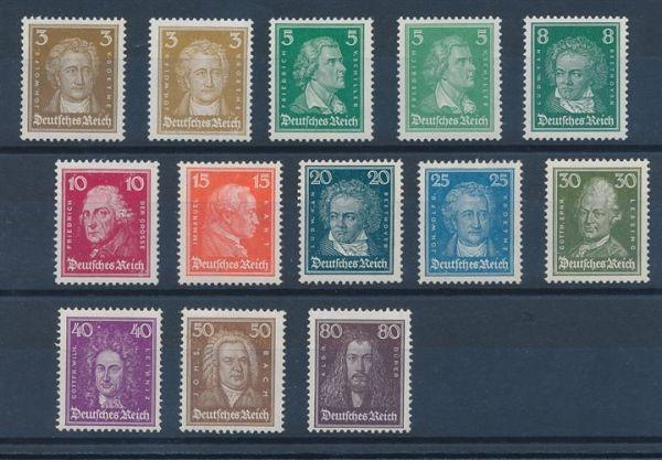 Deutsches Reich Mi.Nr.385-87 ** Luxus Fotoattest BPP