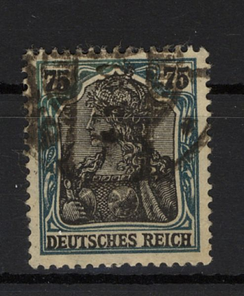 Deutsches Reich Mi.Nr.104b F gestempelt geprüft BPP