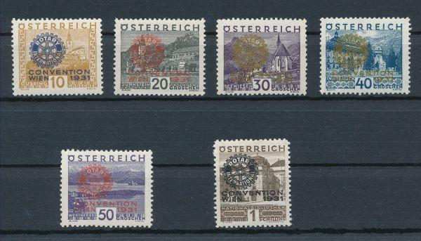 Österreich Mi.Nr.518-23 ** Luxus Fotoattest BPP