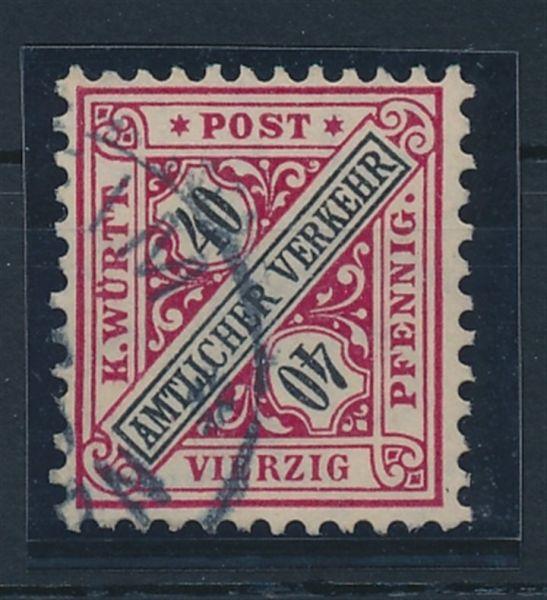 Württemberg Mi.Nr.234 b gestempelt Lux Fotobefund BPP