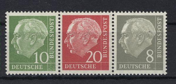 Bundesrepublik Zusammendruck W 22yI ** geprüft