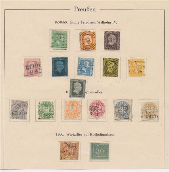 Preussen kl. alter Sammlungsteil