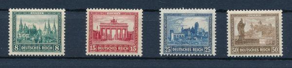 Deutsches Reich Mi.Nr.450-53 ** postfrisch
