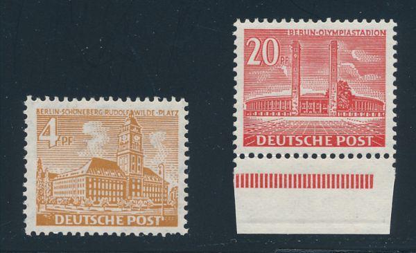 Berlin Mi.Nr. 112-13 ** postfrisch geprüft