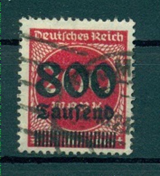 Deutsches Reich Mi.Nr. 303 gestempelt geprüft