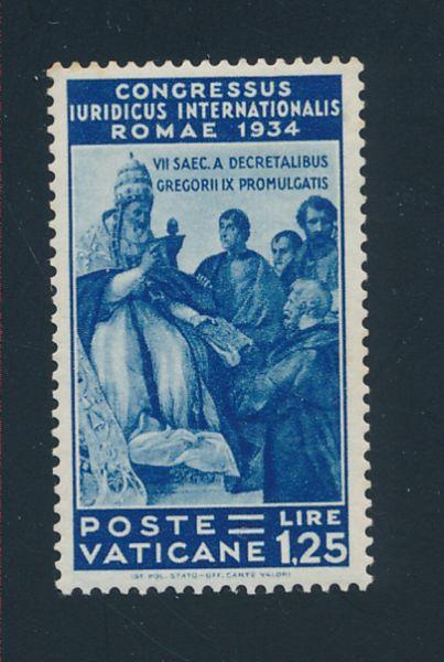 Vatikan Mi.Nr.50 ** postfrisch Gummi etwas gebräunt