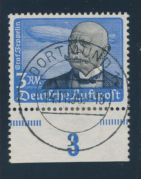 Deutsches Reich Mi. Nr. 539y gestempelt Selten!!