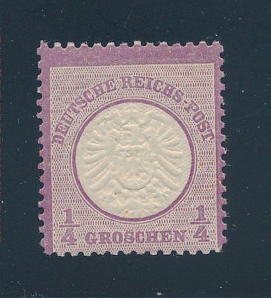 Deutsches Reich Mi.Nr.16 ** Luxus Fotobefund BPP