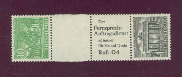 Berlin Zusammendruck SZ 6 ** postfrisch