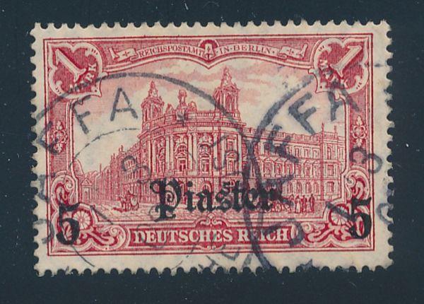 Deutsche Post Türkei Mi.Nr.44 I o Luxus Fotoattest BPP