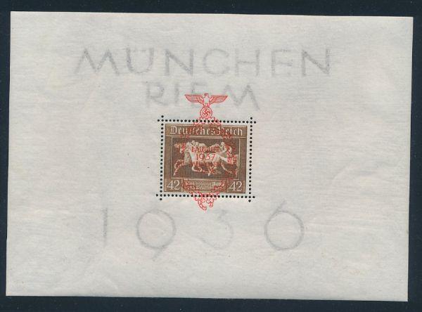 Deutsches Reich Block 10 ** postfrisch