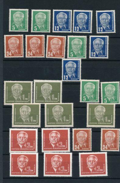 DDR Mi.Nr.322-26 ** postfrisch per 5
