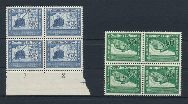 Deutsches Reich Mi.Nr.669-70 ** postfrisch (220.-Euro)