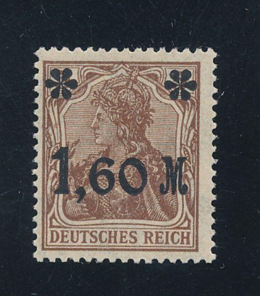 Deutsches Reich Mi.Nr.154 II b ** postfr Luxus FA BPP
