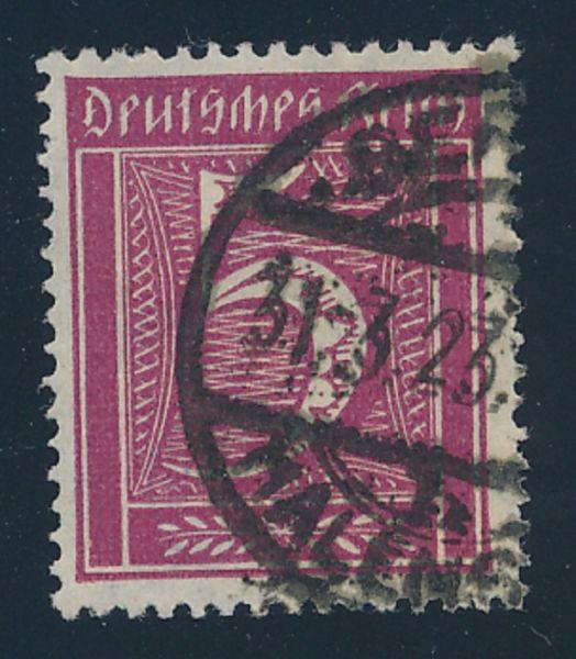 Deutsches Reich Mi.Nr.177 gestempelt Fotobefund BPP
