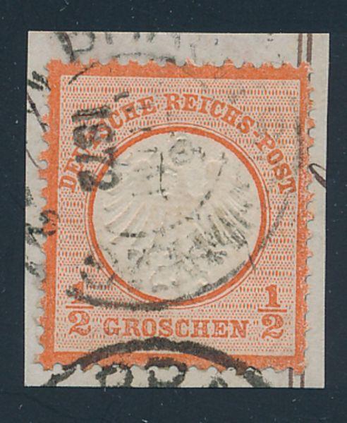 Deutsches Reich Mi.Nr.3 gestempelt geprüft