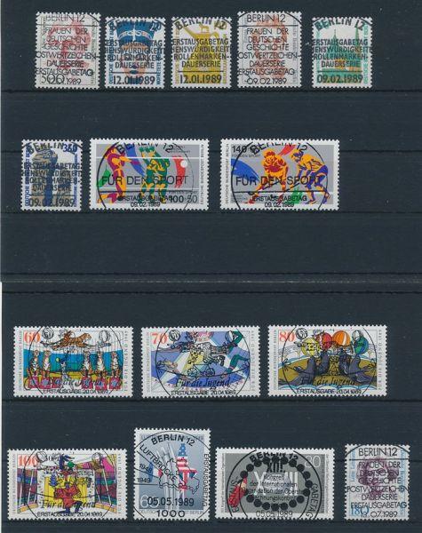 Berlin Jahrgang 1989 zentrische ESST und Gummierung