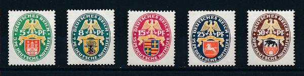 Deutsches Reich Mi.Nr.425-29 ** postfrisch