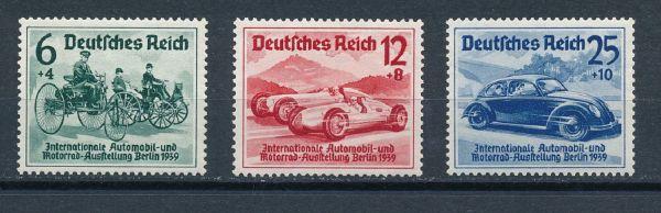 Deutsches Reich Mi.Nr.686-88 ** postfrisch geprüft