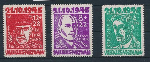 SBZ Mi.Nr. 20-22 ** postfrisch (120.- Euro)