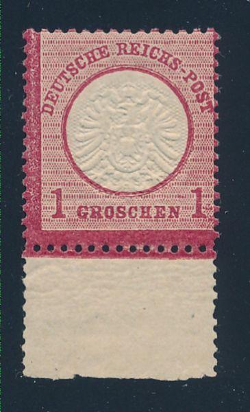 Deutsches Reich Mi.Nr.19 ** postfrisch Fotobefund BPP