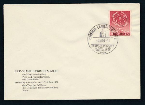 Berlin Mi.Nr.71 Ersttagsbrief FDC