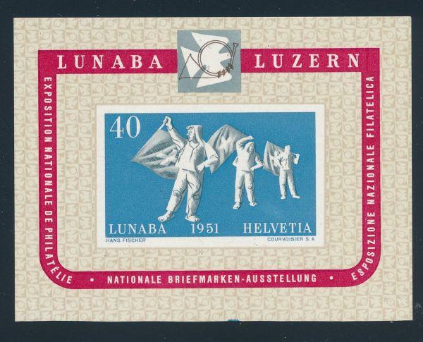Schweiz Block 14 ** postfrisch