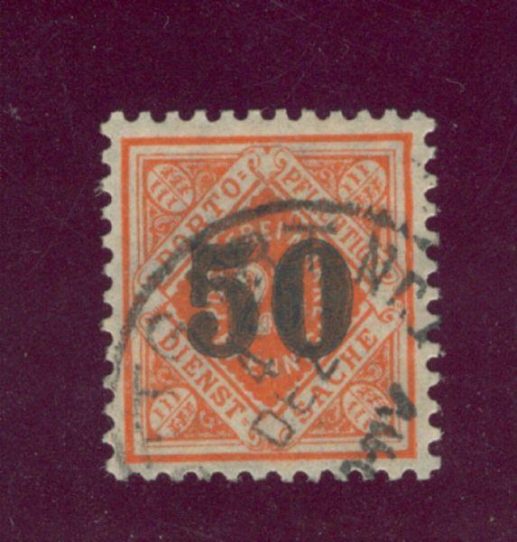 Württemberg Mi.Nr.188 gestempelt Lux Fotoattest BPP