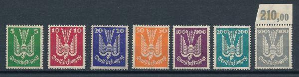 Deutsches Reich Mi.Nr.344-50 ** postfrisch geprüft