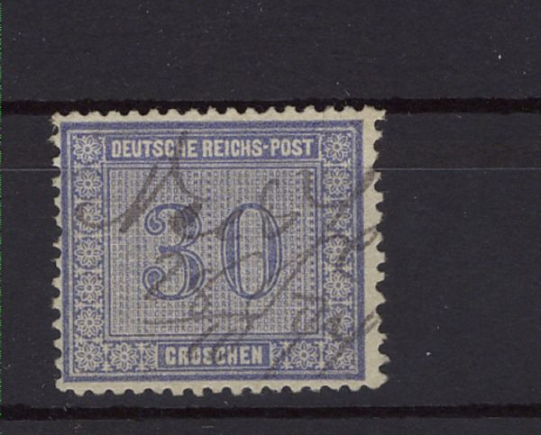 Deutsches Reich Mi.Nr. 13 Federzug