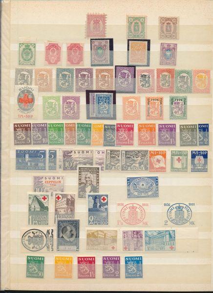 Finnland Gute Sammlung 1885-1988 * und **